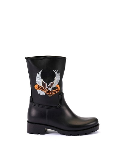Esem ESEM B0034 Yağmur Çizmesi Kadın Ayakkabı  Siyah